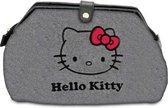 Hello Kitty - Toilettas - Grijs/Rood