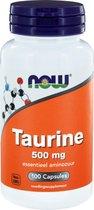 Taurine 500mg - 100 capsules