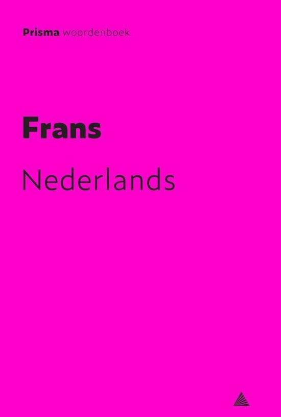 Boek cover Prisma woordenboek Frans-Nederlands van A.M. Maas (Paperback)