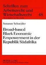 Broad-Based Black Economic Empowerment in Der Republik Sudafrika
