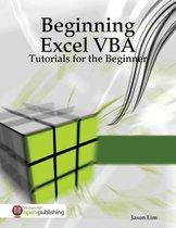 Boekomslag van 'Beginning Excel VBA Tutorials - Tutorials for the Beginner'