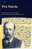 Publikaties van de Faculteit der Historische en Kunstwetenschappen XXVIII -   Pro Patria