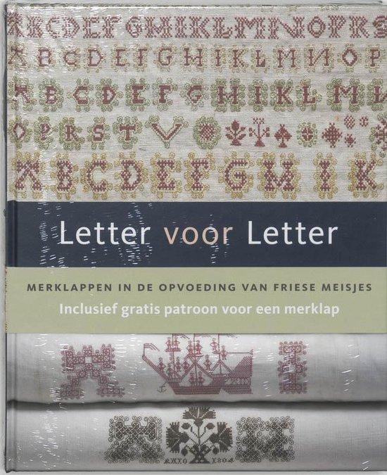 Cover van het boek 'Letter voor Letter'