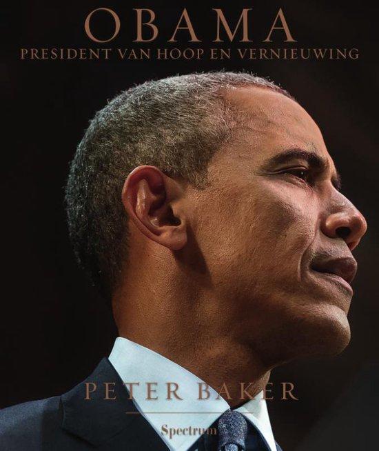 Boek cover Obama van Peter Baker