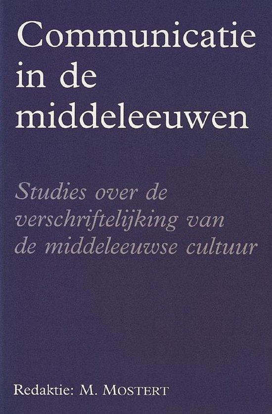 Amsterdamse historische reeks 23 - Communicatie in de Middeleeuwen - none |