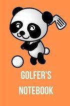 Golfer's Notebook