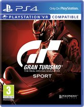 Cover van de game Gran Turismo GT Sport - PS4