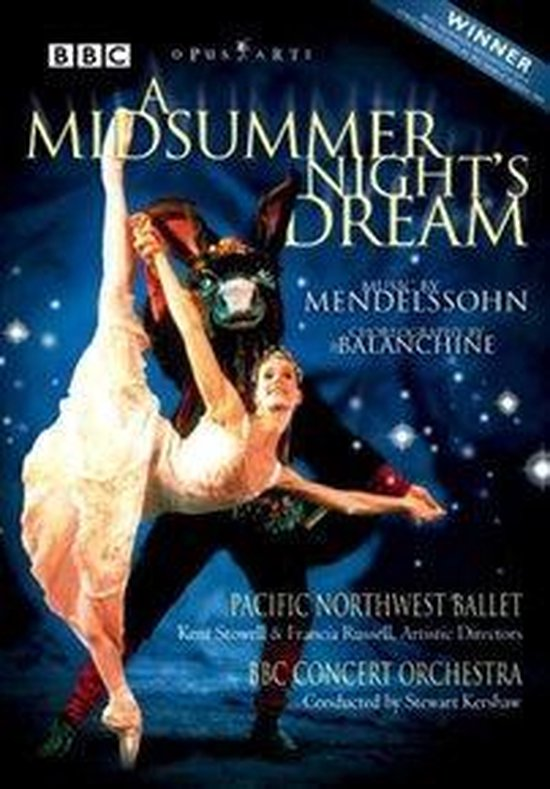 Cover van de film 'A Midsummer Night's Dream'