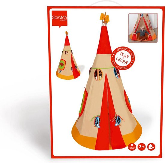 Toizz | Teepee Indian Tent Outdoor Play Mamamemo Brands