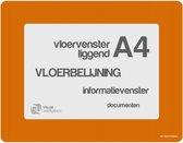 Vloervensters A4 (Oranje)