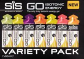 SiS Go Isotonic Energiegel Mixed 7 Gels  60 ml