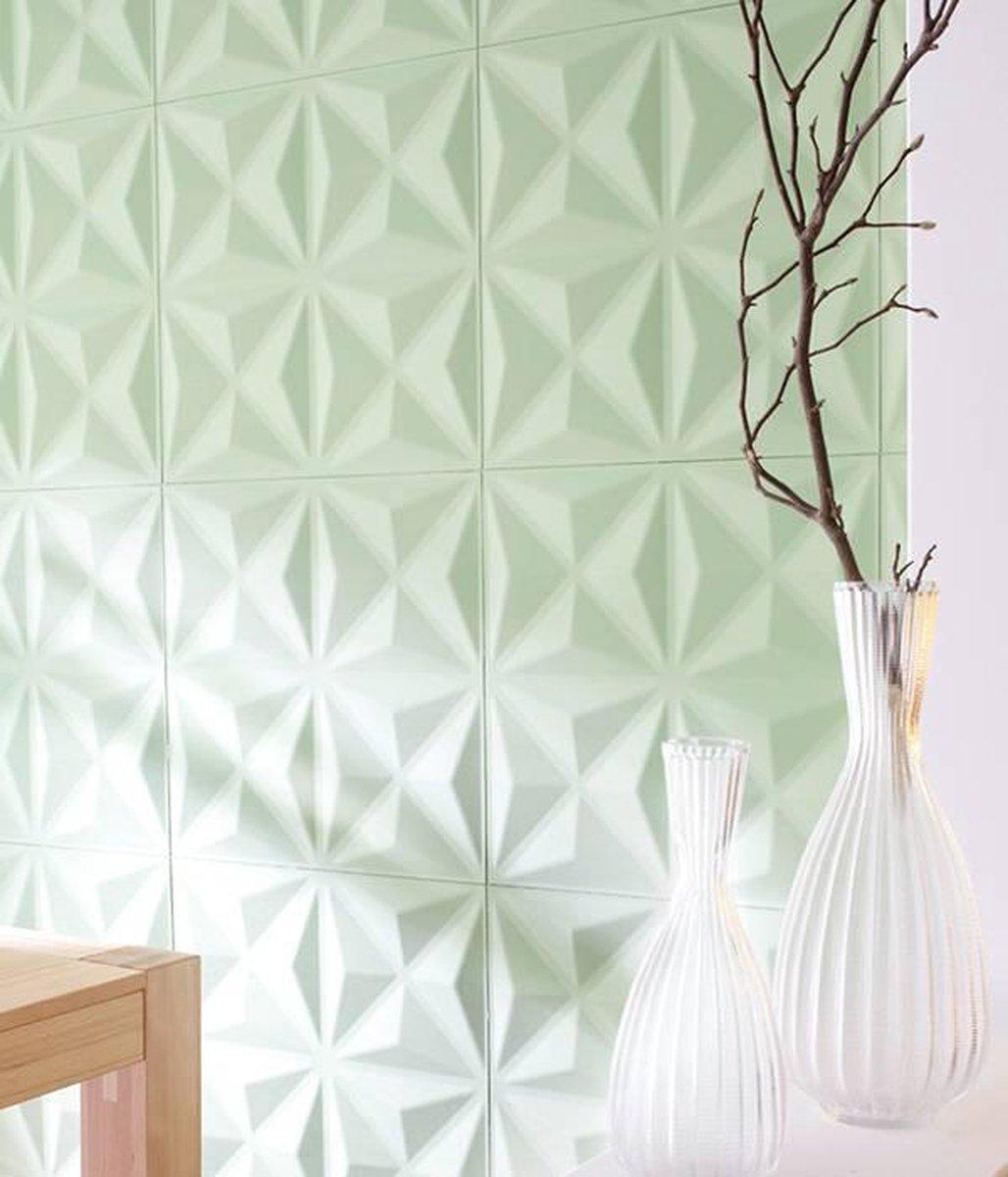 3D decoratieve recylcede wandpanelen model Lasse - Rebel of Styles