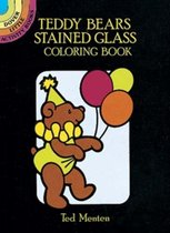 Teddy Bears Stained Glass Coloring Book