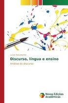 Discurso, lingua e ensino