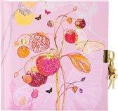 Afbeelding van GOLDBUCH GOL-44343 TURNOWSKY dagboek PINK STRAWBERRY met slot