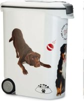 Curver - Voedselcontainer Hond - Wit - 54L - 20kg