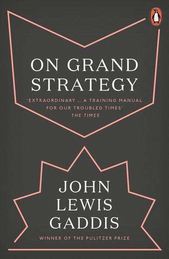 Boek cover On Grand Strategy van John Lewis Gaddis (Onbekend)