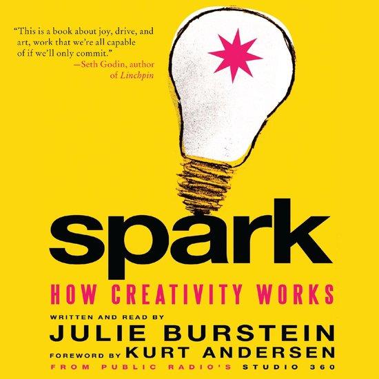 Boek cover Spark van Julie Burstein