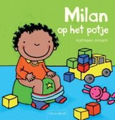 Boek cover Milan op het potje van Kathleen Amant (Hardcover)