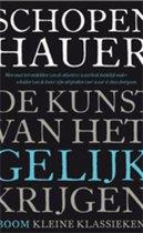 Boek cover De kunst van het gelijk krijgen van Arthur Schopenhauer (Paperback)