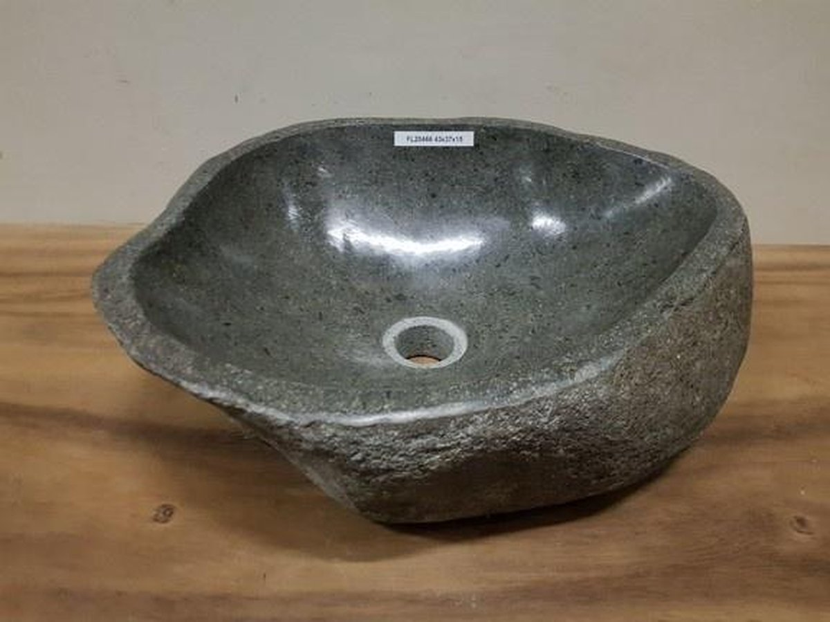 Waskom natuursteen FL20466 - 43x37x15cm