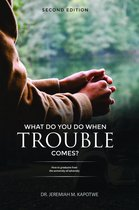 Omslag What Do You Do When Trouble Comes?
