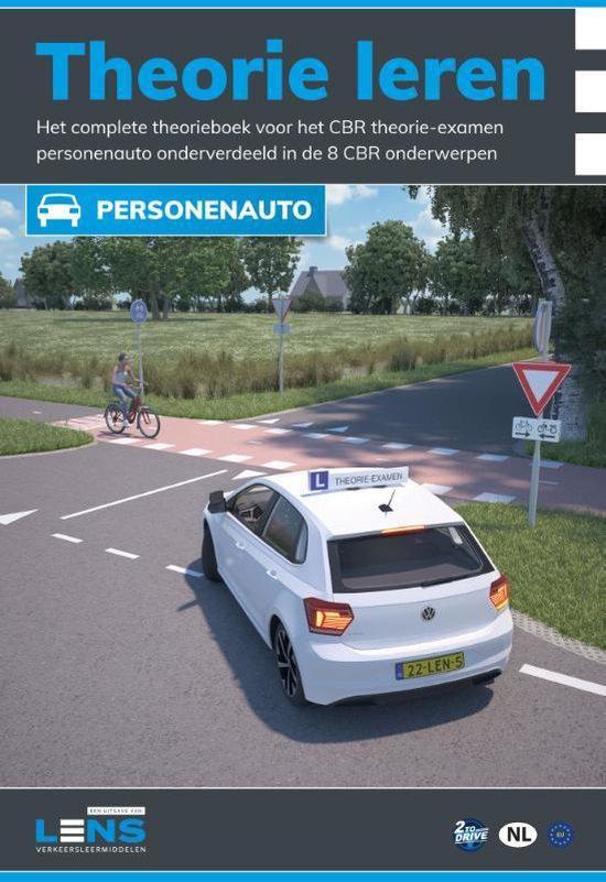Boek cover Lens verkeersleermiddelen  -   Theorie leren personenauto met examentraining van P. Somers (Paperback)