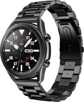 Bandje Zwart RVS Samsung Galaxy Watch 3 45mm