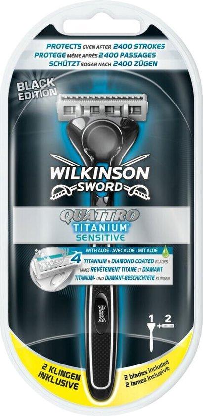 Scheermes - Wilkinson Sword - Quattro Titanium Sensitive