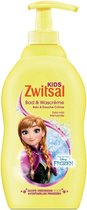 Zwitsal Frozen Kids Bad & Wash Creme 400ml