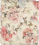 Clayre & Eef Bedsprei Q190.061 240*260 cm - Meerkleurig Polyester SpreiPlaidDeken