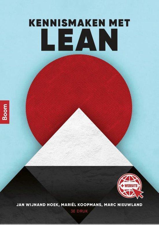 Boek cover Kennismaken met Lean van Jan Wijnand Hoek (Paperback)