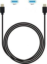 Grab 'n Go - USB-C naar USB-C Kabel 2m Zwart