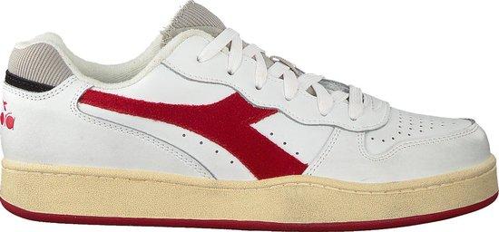 Diadora Heren Lage sneakers Mi Basket Low Used - Wit - Maat 42