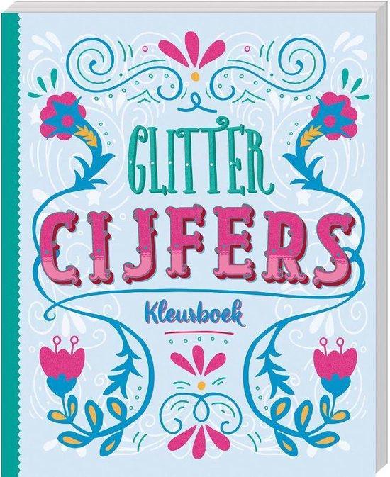 Afbeelding van Glitterkleurboek Cijfers speelgoed