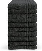 Byrklund Handdoeken set - Bath Basics - 10-delig - 10x 50x100 - 100% katoen - Antraciet