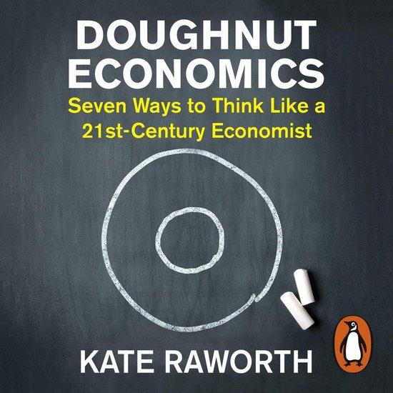 Boek cover Doughnut Economics van Kate Raworth (Onbekend)