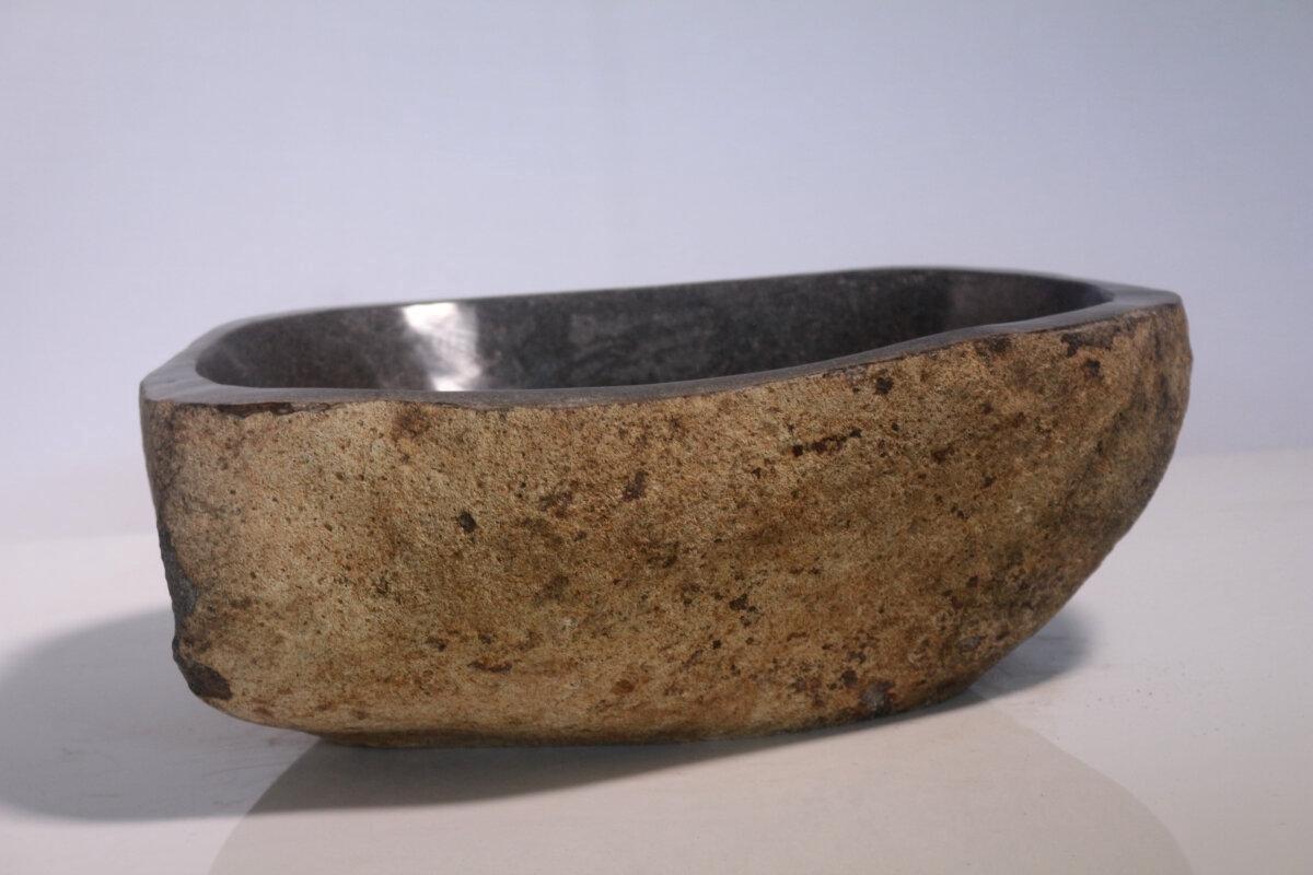 Natuurstenen waskom | DEVI-W20-120 | 37x38x15