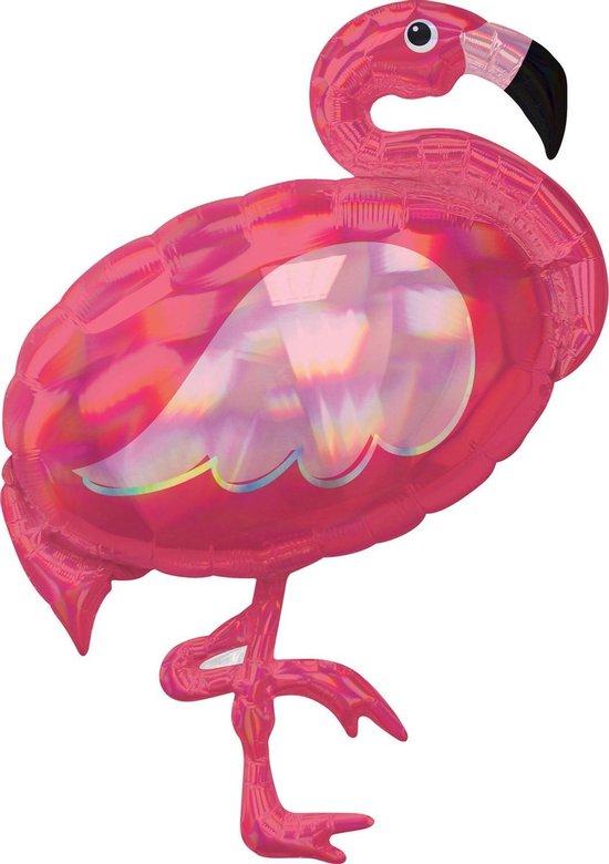 Amscan Folieballon Flamingo 71 X 83 Cm Roze