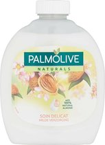 6x Palmolive Handzeep Naturals Melk & Amandel Navulling 300 ml