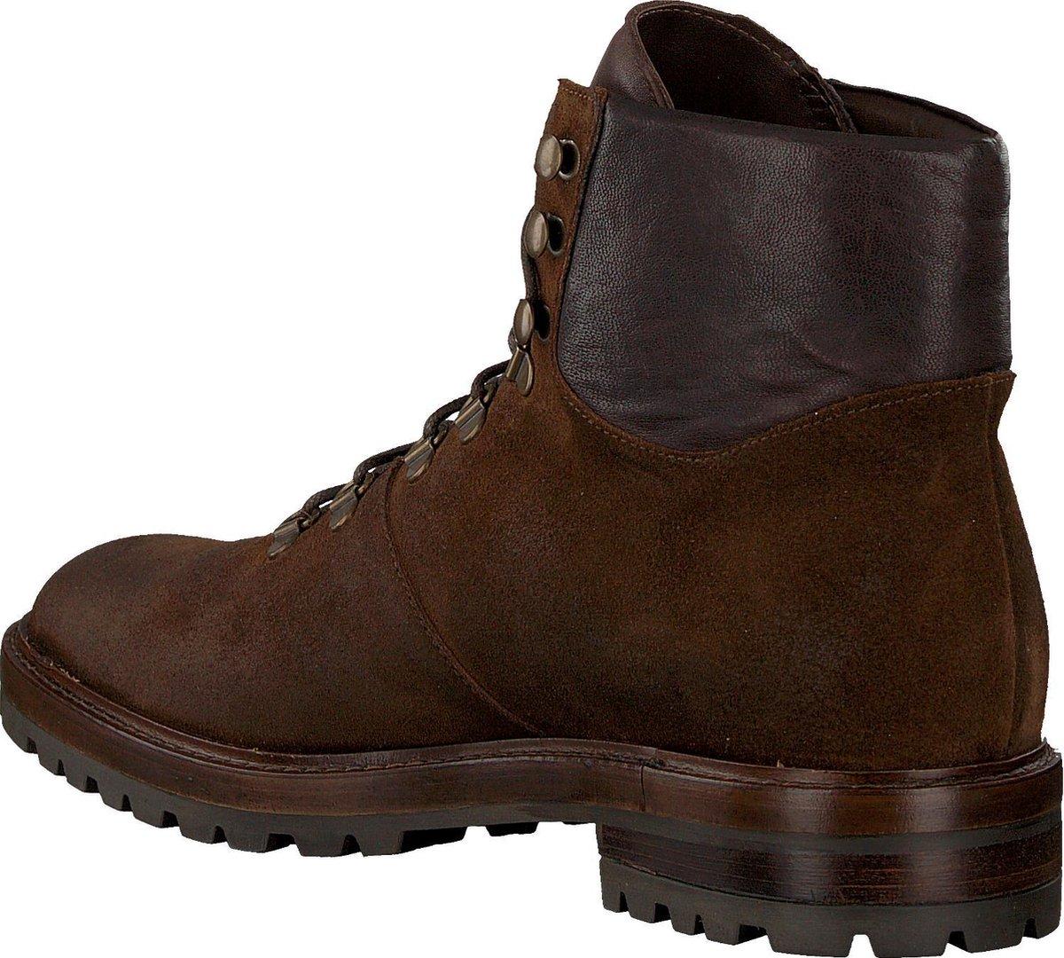 Mazzeltov Heren Veterboots 3813 - Bruin - Maat 45 Boots