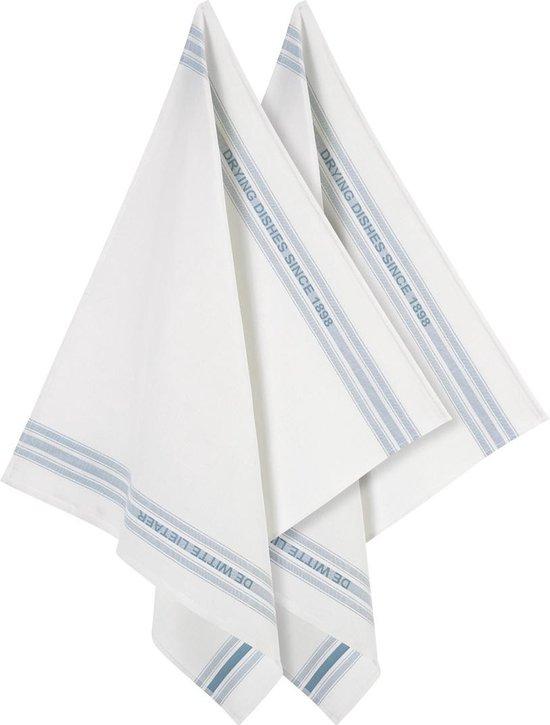 De Witte Lietaer Dish - Glazendoek - 65x70 cm - Set van 2 - Off-White-Oxyde
