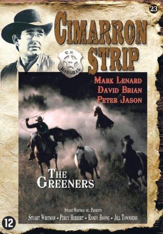 Cover van de film 'Cimarron Strip - The Greeners'