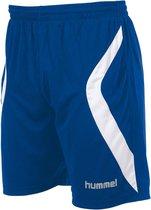 hummel Manchester Short Sportbroek - Blauw - Maat XL