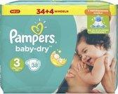 Pampers Baby Dry Luiers Maat 3 Midi (5-9kg) 38 stuks