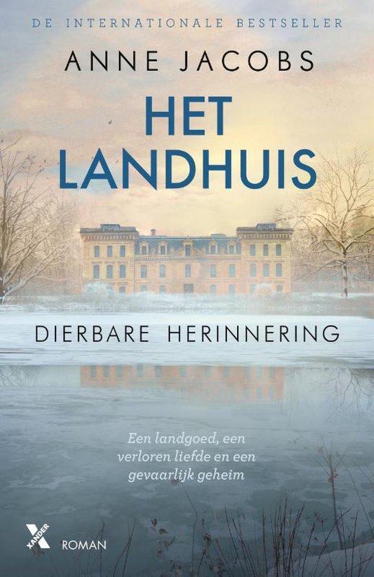 Boek cover Het landhuis van Anne Jacobs (Paperback)