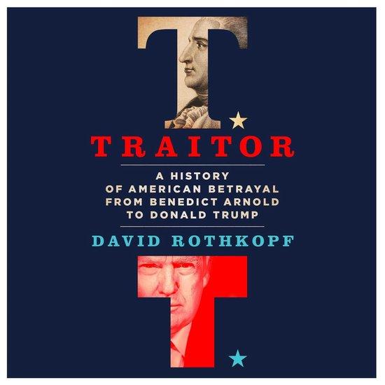 Boek cover Traitor van David Rothkopf (Onbekend)