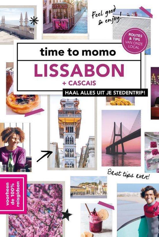 Boek cover Time to momo  -   Lissabon + Cascais van Stephanie Waasdorp (Paperback)