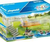 PLAYMOBIL Family Fun  Dierenpark  Uitbreidingsset voor dierenpark - 70348