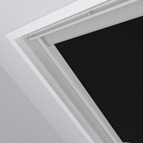 Dakraam Rolgordijn Trend - Verduisterend - Zwart - Voor Velux: S06 / 4 / 606